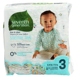 Seventh Generation Free & Clear Sensitive Skin Baby Diapers - Size 3 - 31 ct-Seventh Generation-pantryperks