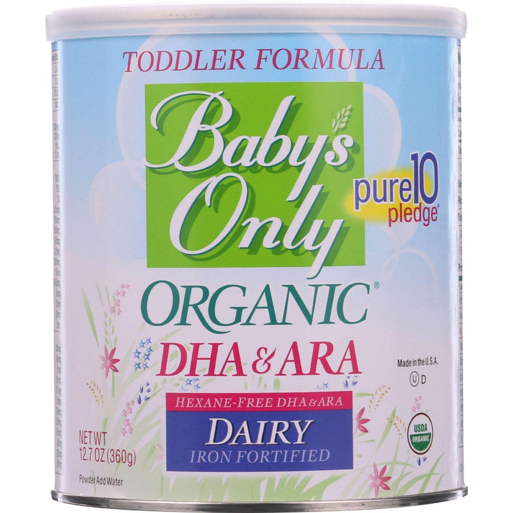 Nature's One Baby's Only Organic DHA & ARA Toddler Formula - 12.7 oz-Baby's Only Organic-pantryperks
