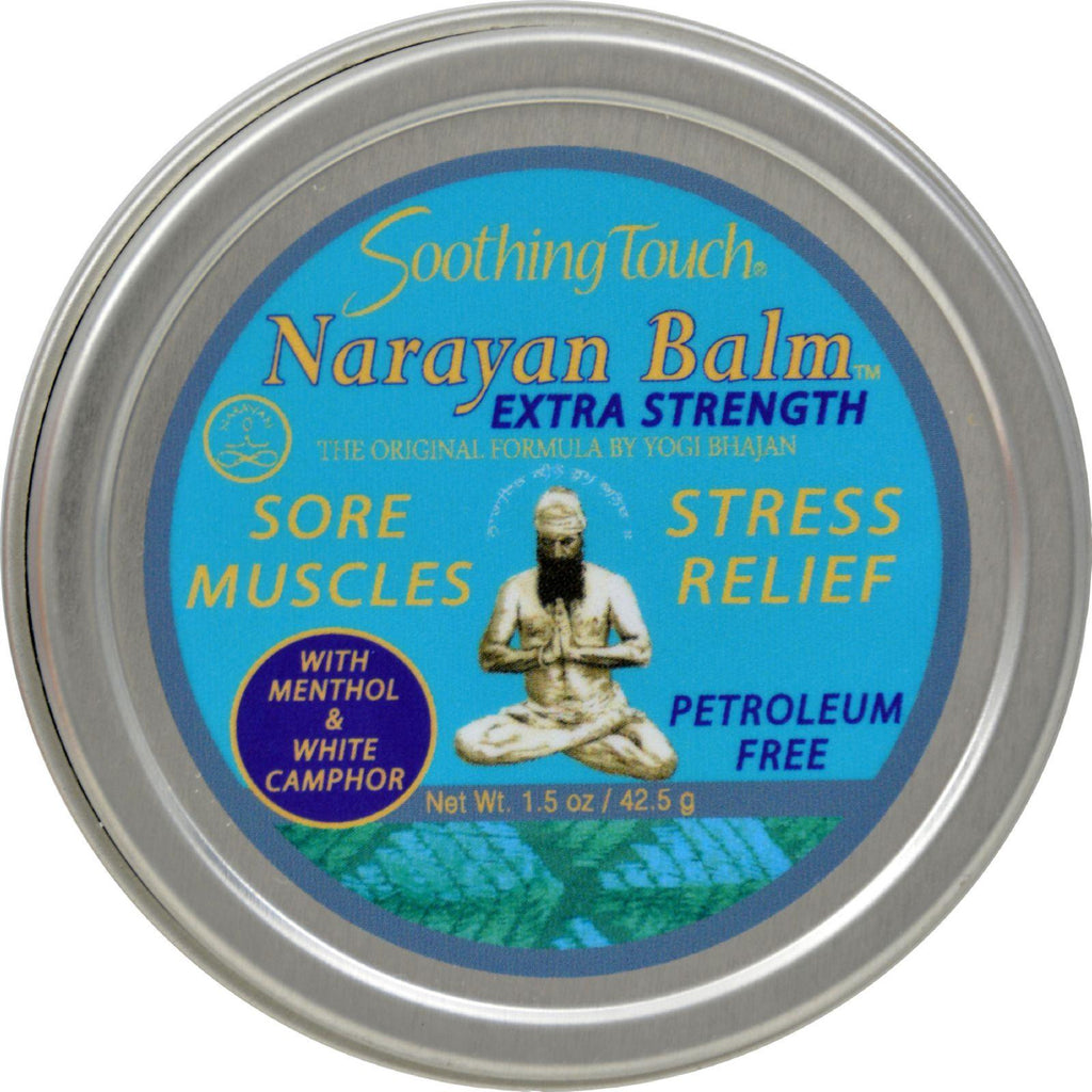 Soothing Touch Narayan Balm - Extra Strength - Case Of 6 - 1.5 Oz-Soothing Touch-pantryperks