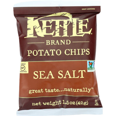 Kettle Foods Potato Chips Sea Salt - 1.5 oz-Kettle Brand-pantryperks