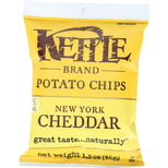 Kettle Foods Potato Chips New York Cheddar - 1.5 oz-Kettle Brand-pantryperks