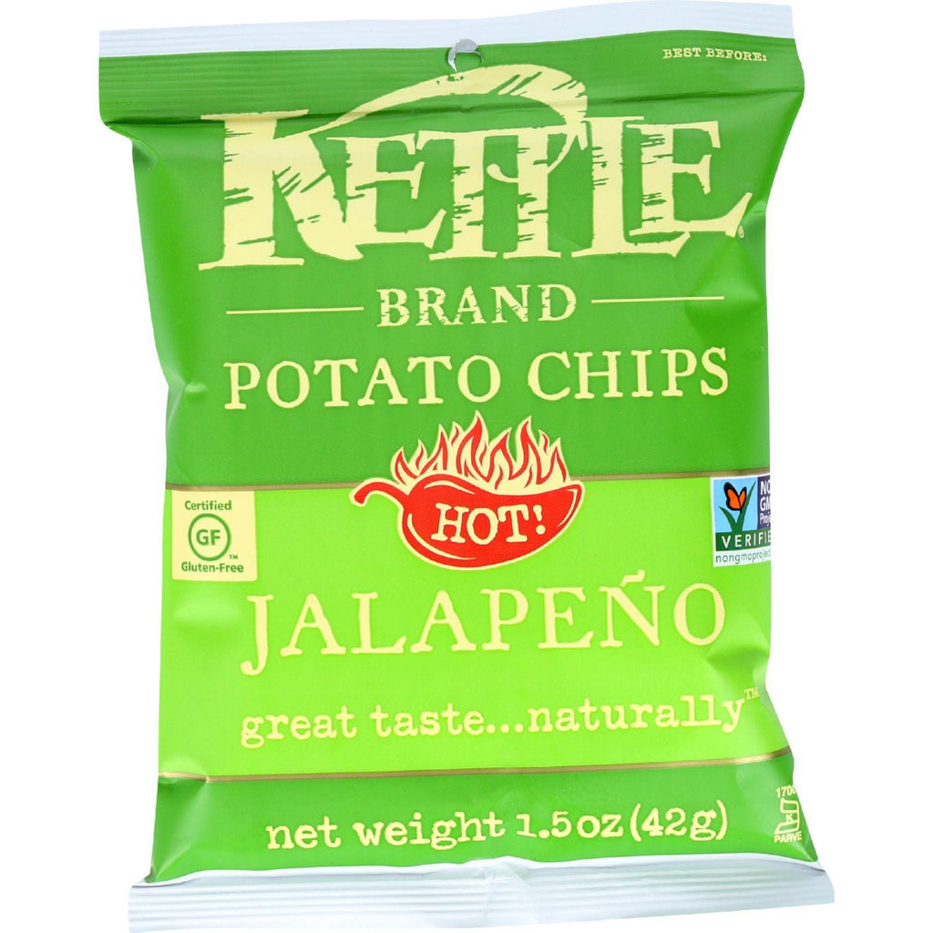 Kettle Foods Potato Chips Jalapeno - 1.5 oz-Kettle Brand-pantryperks