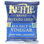 Kettle Foods Potato Chips Sea Salt & Vinegar - 1.5 oz-Kettle Brand-pantryperks