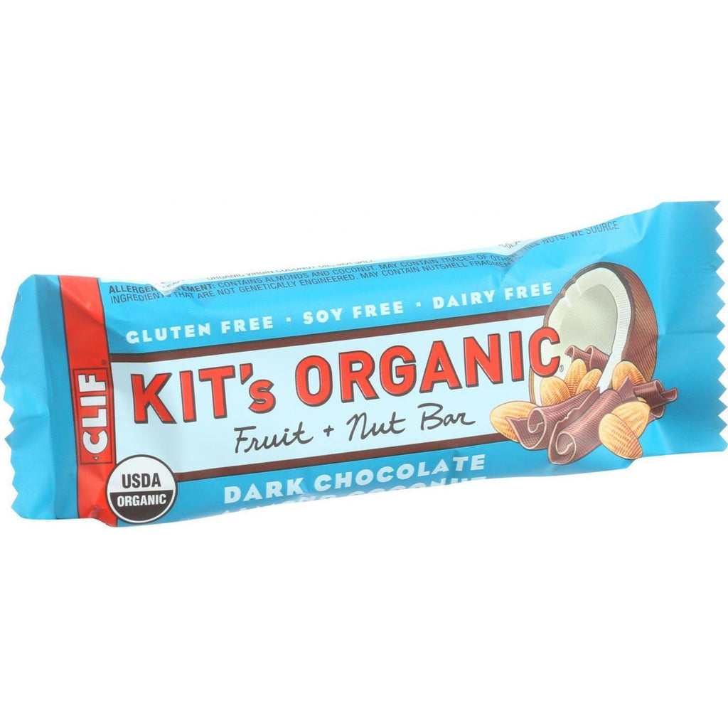 Clif Kit's Organic Fruit And Nut Bar - Dark Chocolate Almond Coconut - Case Of 12 - 1.69 Oz Bars-Clif Bar-pantryperks