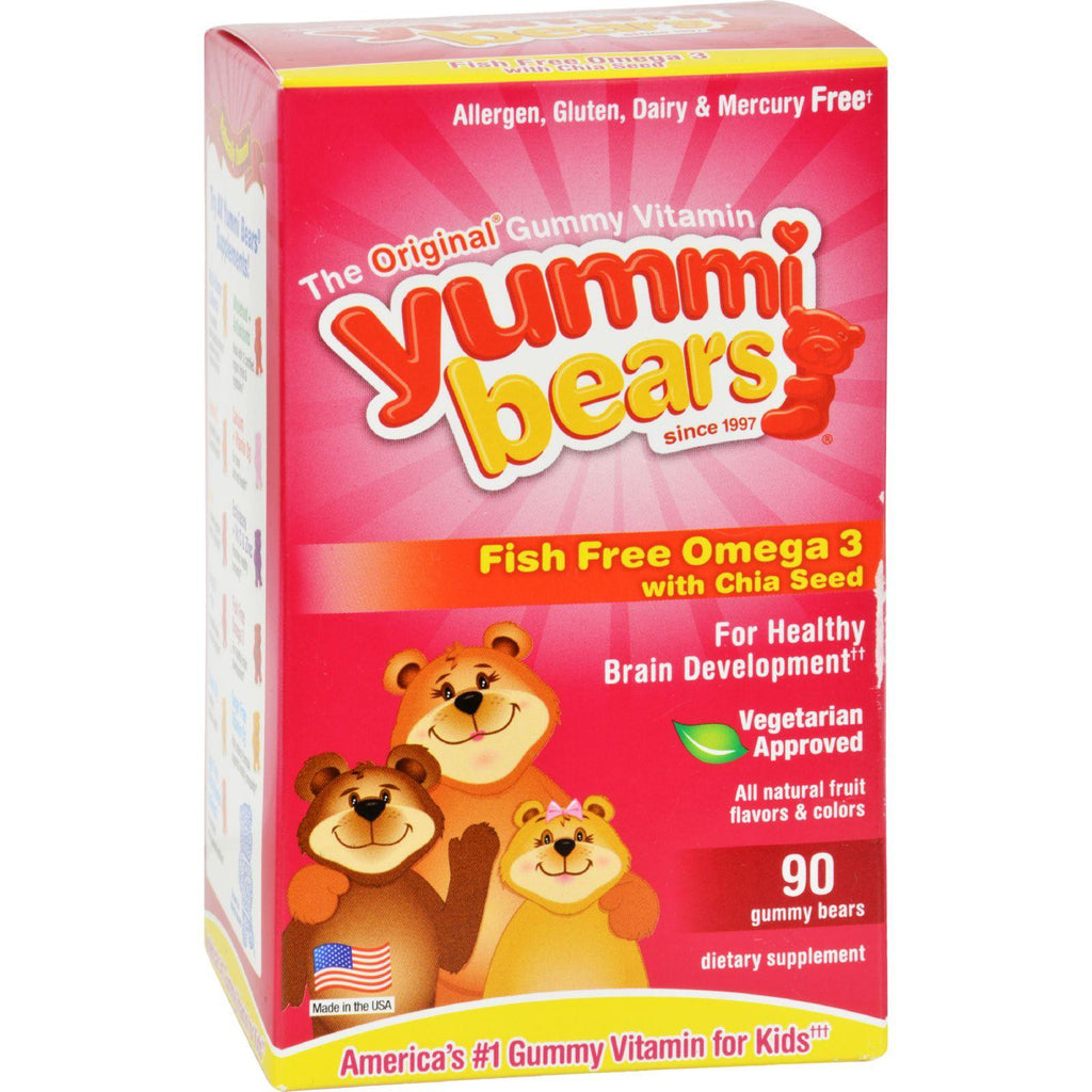 Hero Nutritionals Yummi Bear - Omega 3-6-9 - 90 Count-Hero Nutritional Products-pantryperks