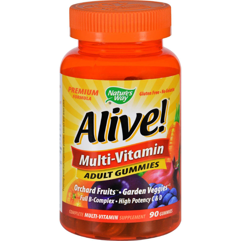 Nature's Way Alive Multi-vitamin Adult Gummies - 90 Gummies-Nature's Way-pantryperks