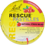 Bach Rescue Remedy Pastilles - Cranberry - 50 Grm - Case Of 12-Bach-pantryperks