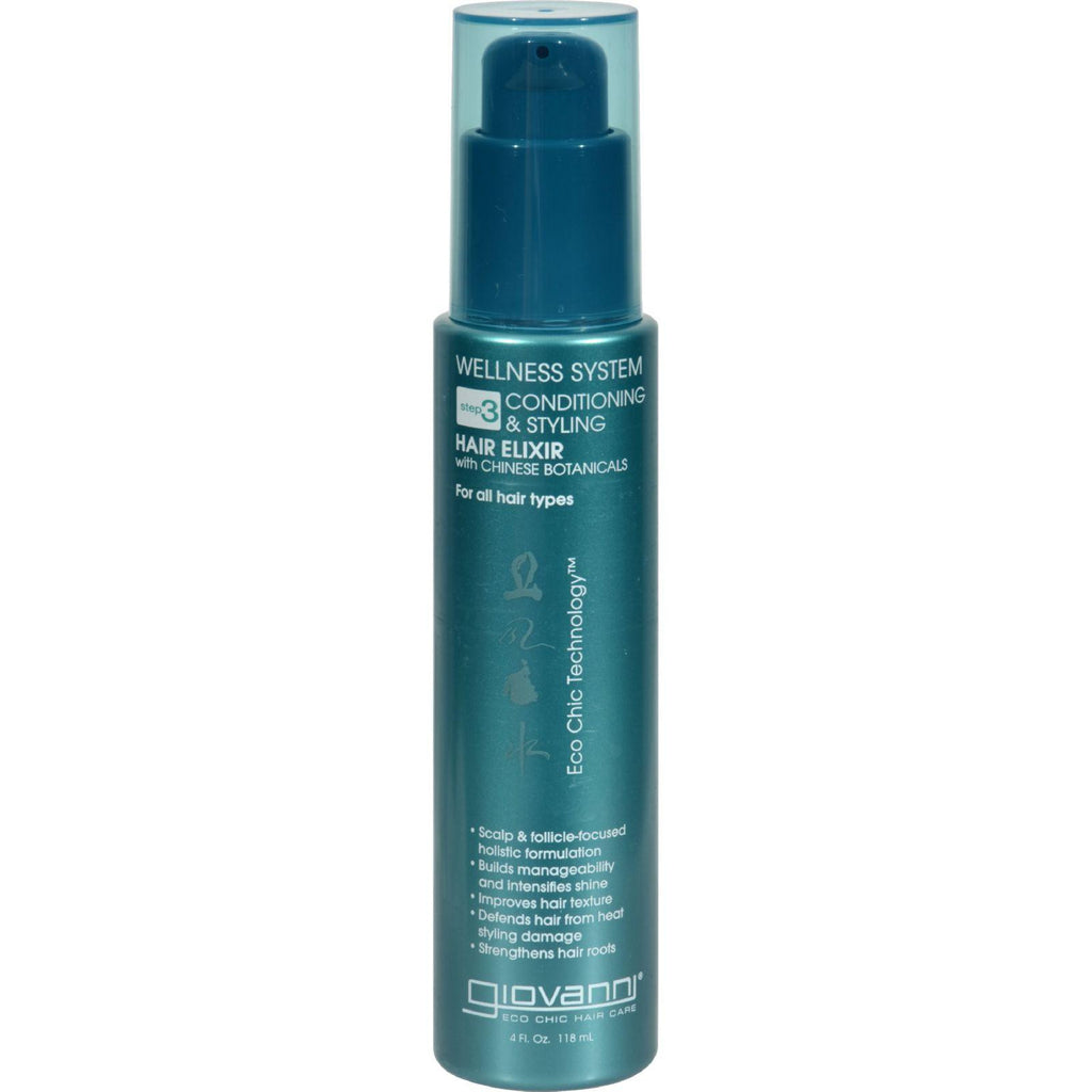 Giovanni Hair Care Products Leave In Conditioner Wellness System - 4 Oz-Giovanni Hair Care Products-pantryperks