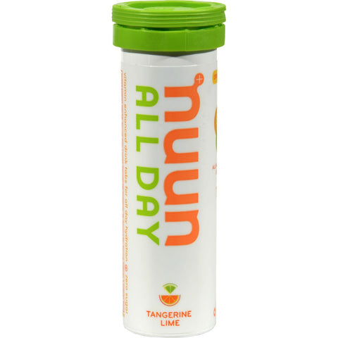 Nuun Hydration Tablets All Day -tangerine Lime - Case Of 8 - 16 Tablets-Nuun Hydration-pantryperks