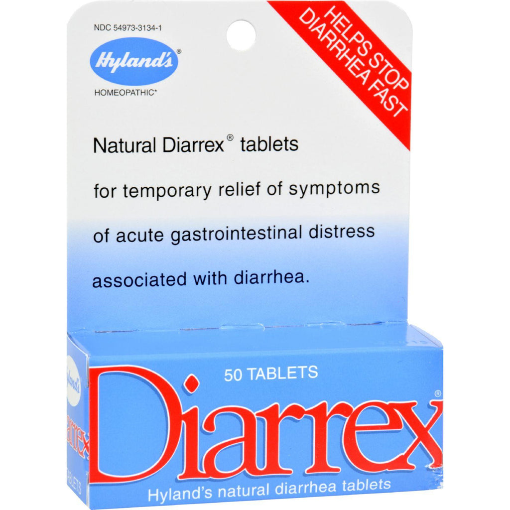 Hylands Homeopathic Diarrex Tablets - 50 Tablets-Hyland's-pantryperks