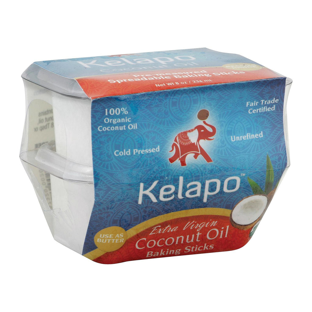 Kelapo Extra Virgin Coconut Oil - Case Of 6 - 4 Oz.-Kelapo-pantryperks