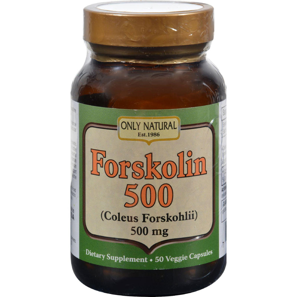 Only Natural Forskolin Extract - 50 Vcaps-Only Natural-pantryperks