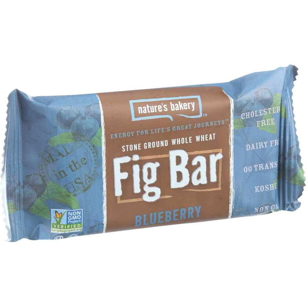 Nature's Bakery 100% Natural Fig Bar Blueberry - 2 oz-Nature's Bakery-pantryperks