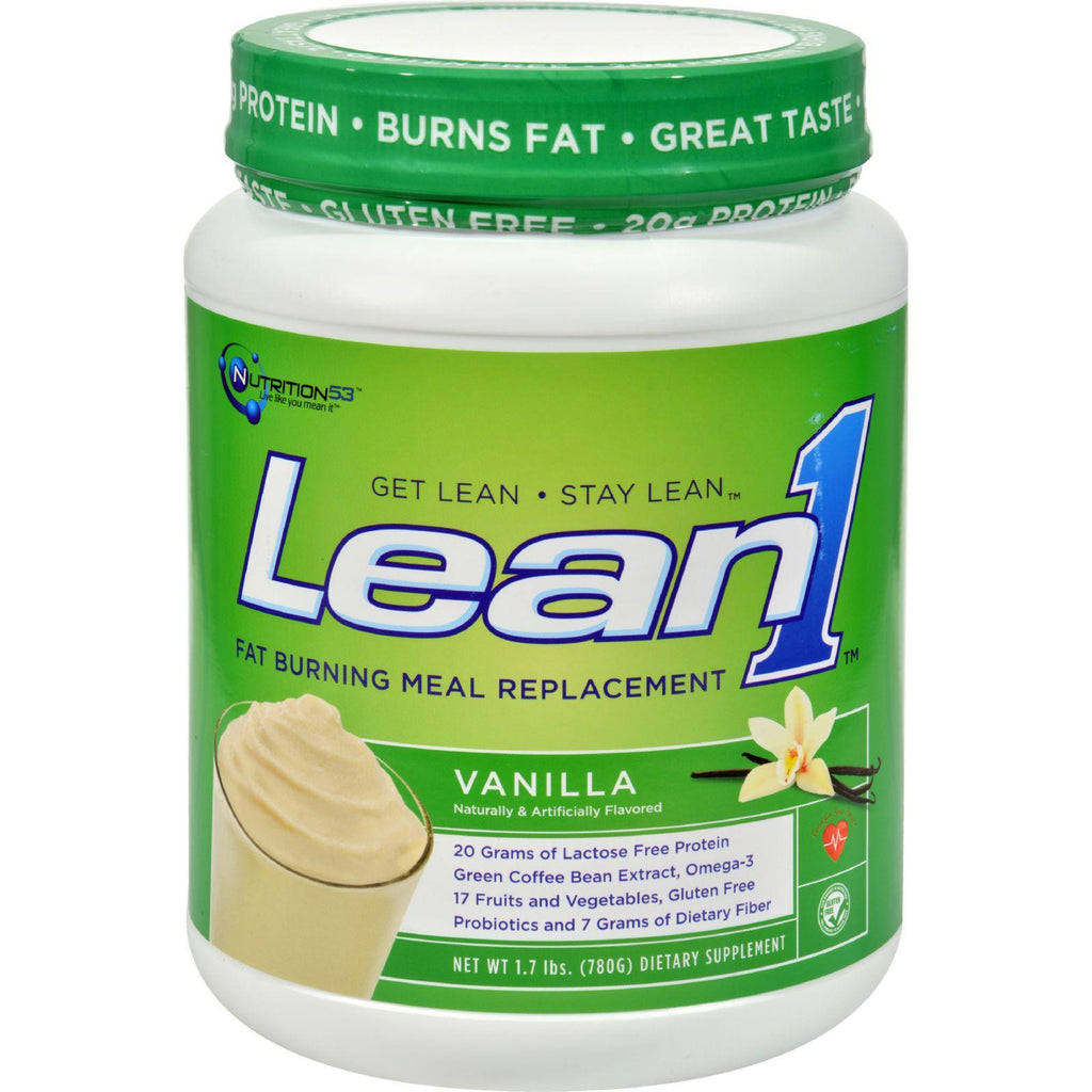 Nutrition53 Weight Loss Shake Lean1 Vanilla - 2 Lbs-Nutrition53-pantryperks