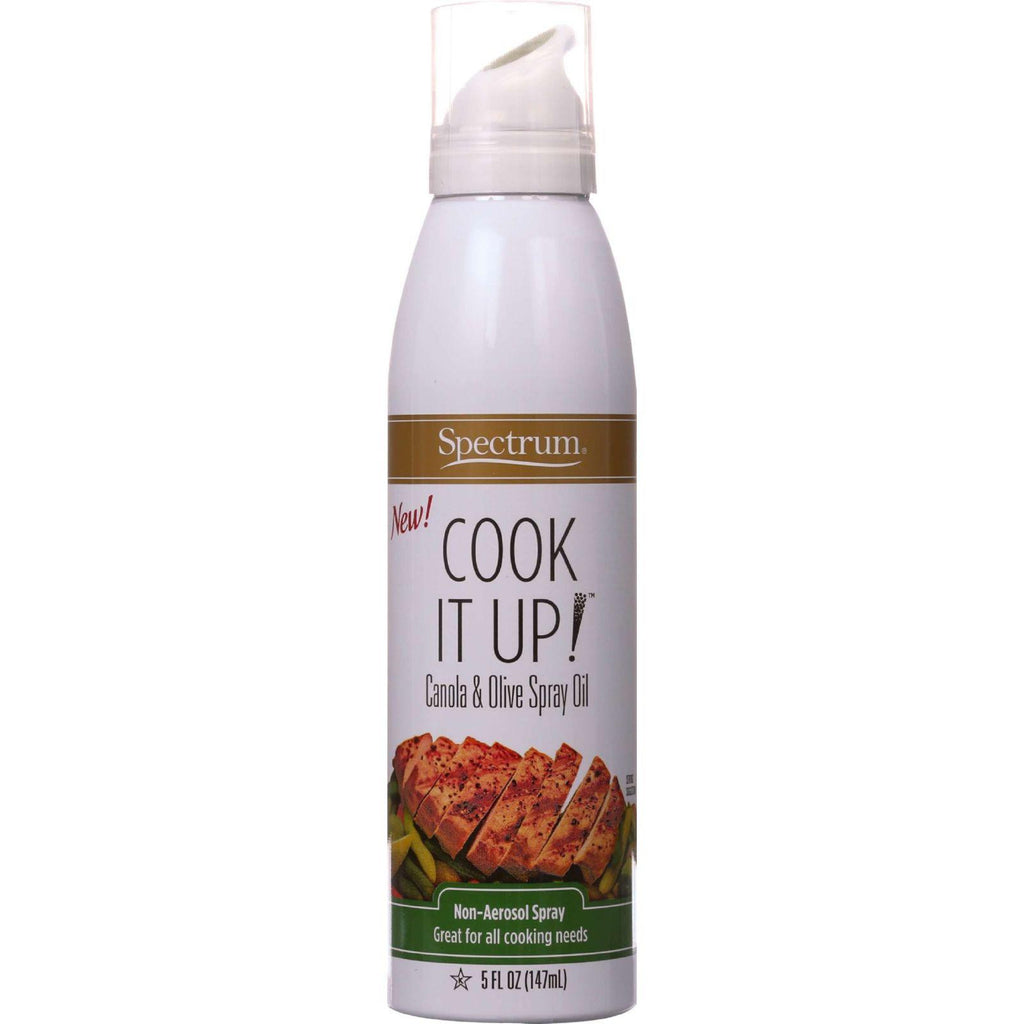Spectrum Naturals Spray Oil - Canola And Olive - Non-aerosol - Cook It Up - 5 Oz - Case Of 6-Spectrum Naturals-pantryperks