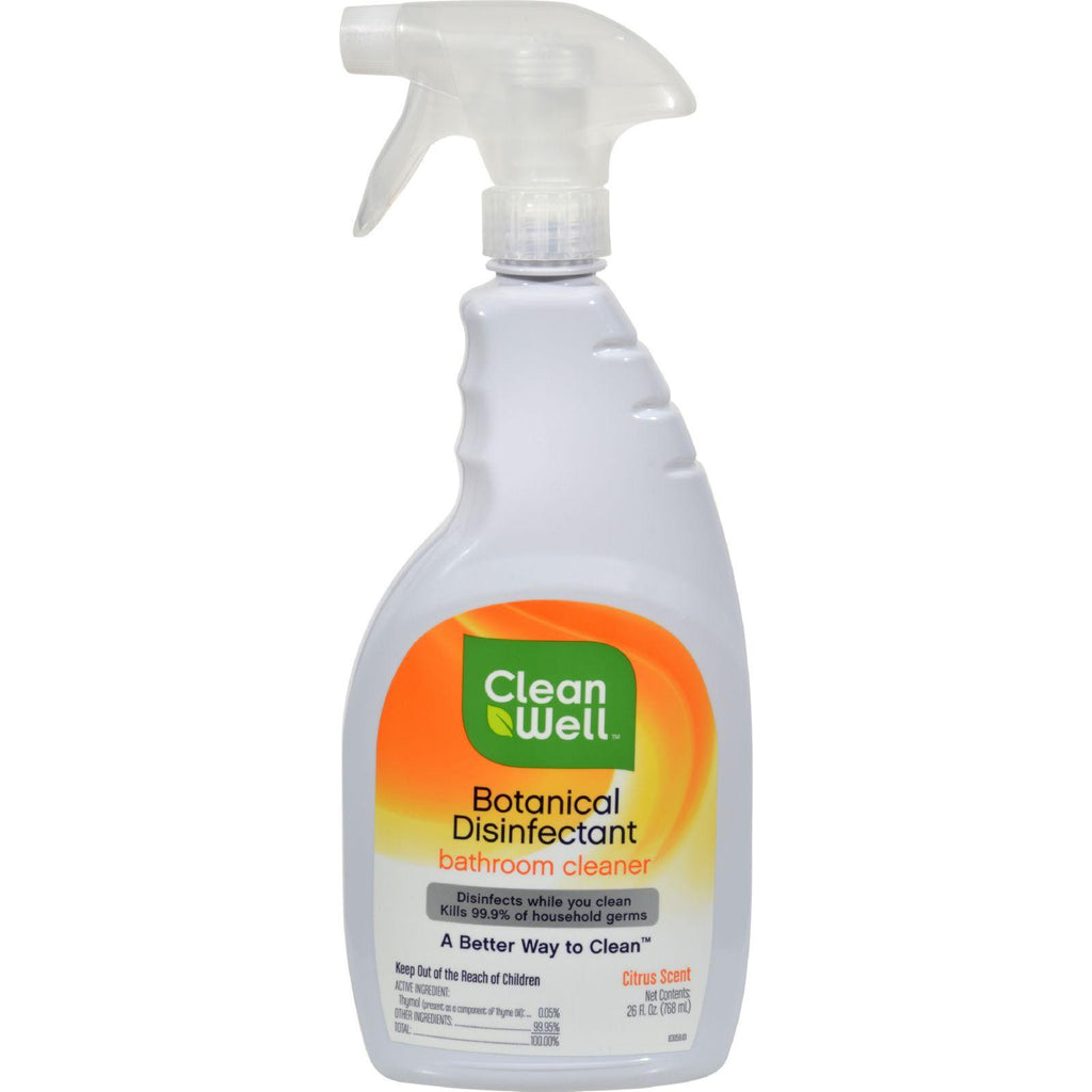 Cleanwell Bathroom Disinfectant Cleaner - 26 Fl Oz-Cleanwell-pantryperks