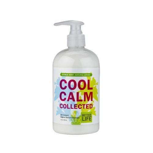 Better Life Cool And Calm Lotion - Citrus Mint - 12 Fl Oz-Better Life-pantryperks