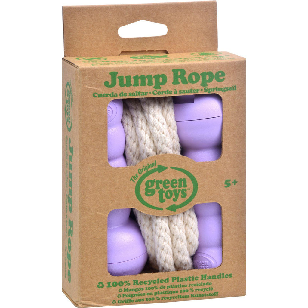 Green Toys Jump Rope - Purple-Green Toys-pantryperks