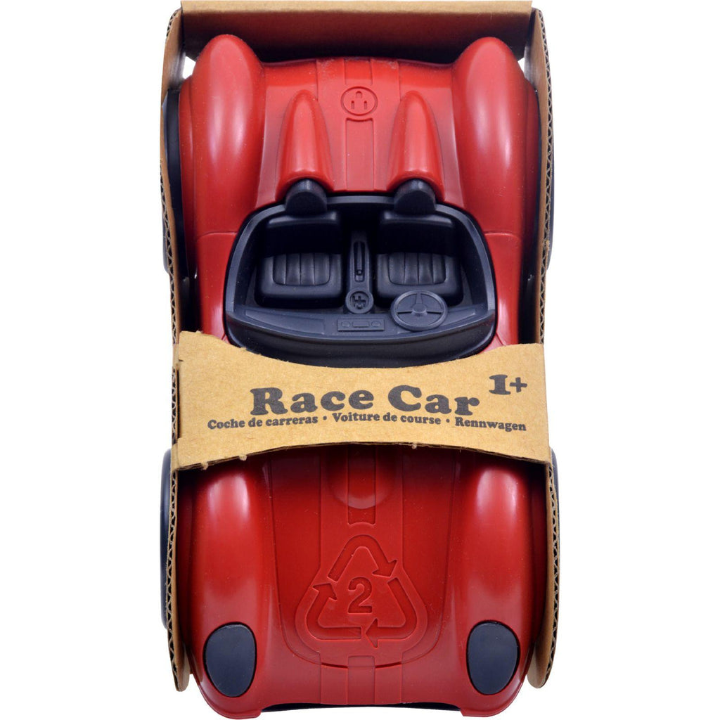 Green Toys Race Car - Red-Green Toys-pantryperks