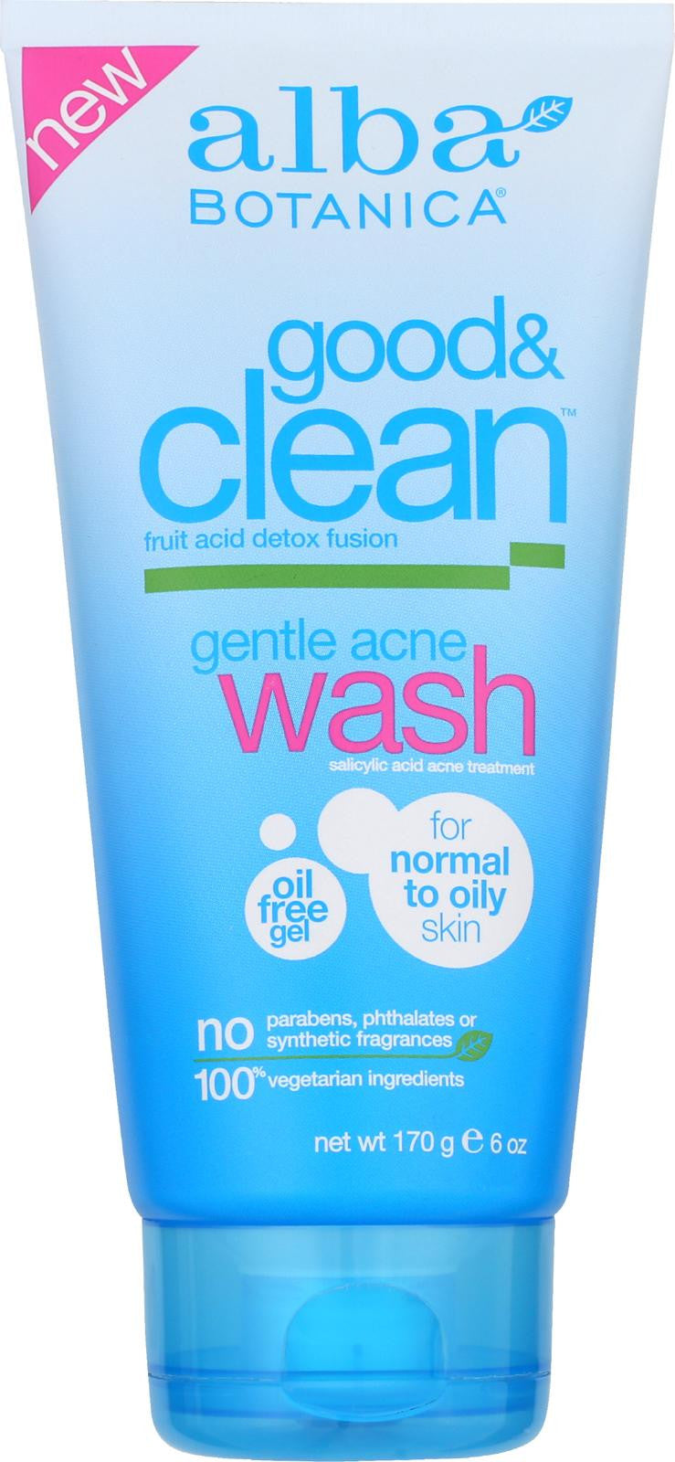 Alba Botanicaå¨ Good & Clean Gentle Acne Wash - 6 fl oz-Alba Botanica-pantryperks