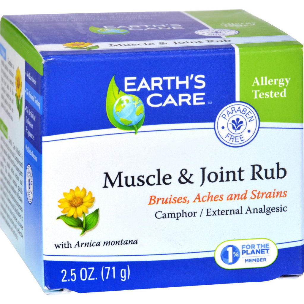 Earths Care Muscle And Joint Rub - 2.5 Oz-Earth's Care-pantryperks