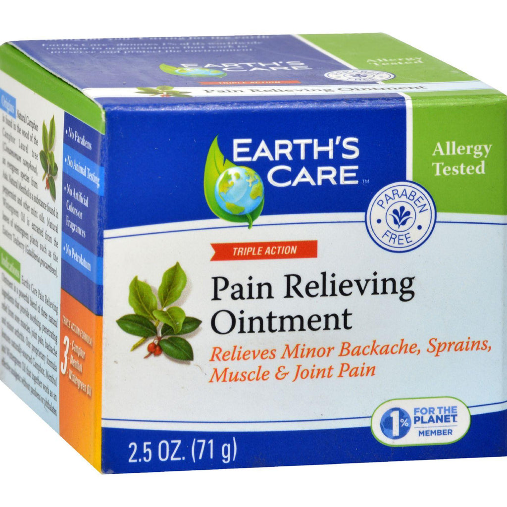 Earth's Care Pain Relieving Ointment - 2.5 Oz-Earth's Care-pantryperks
