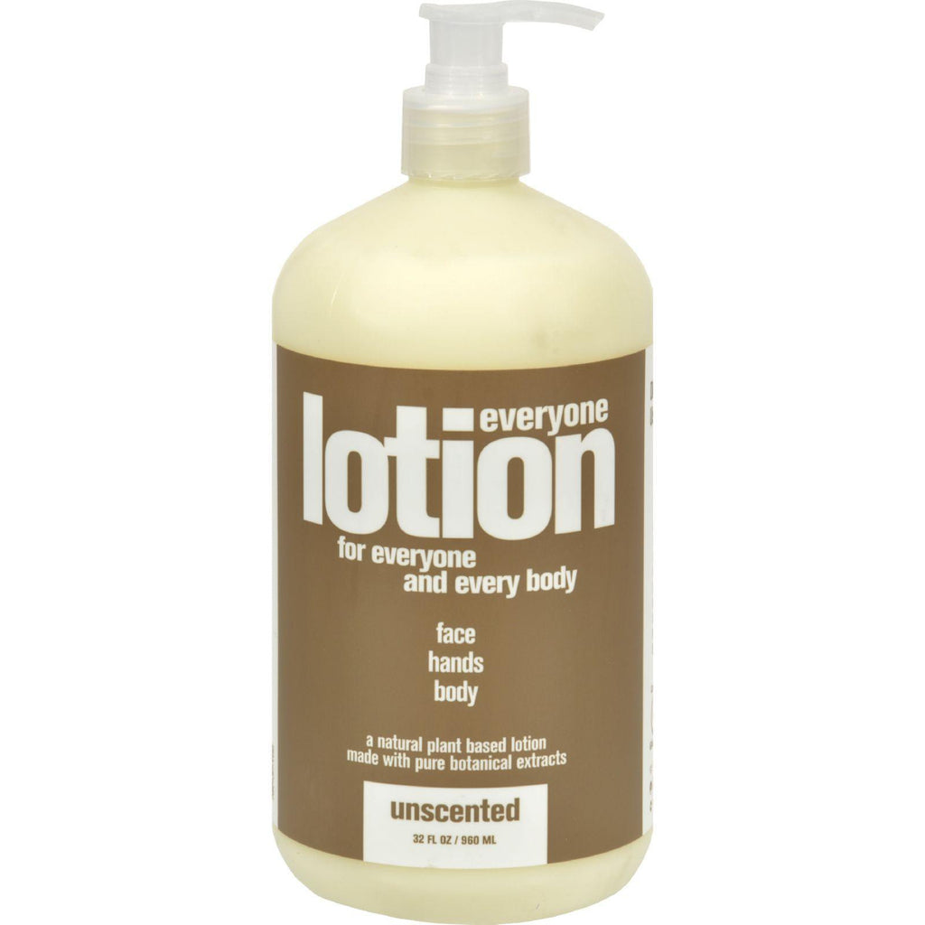 EO Essential Oil Products Everyone Lotion Unscented - 32 fl oz-Eo Products-pantryperks
