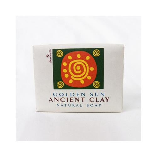 Zion Health Clay Bar Soap - Golden Sun - 10.5 Oz-Zion Health-pantryperks
