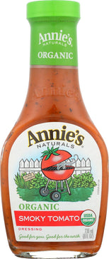 Annie's Naturals Organic Dressing Smoky Tomato - Case Of 6 - 8 Fl Oz.-Annie's Naturals-pantryperks