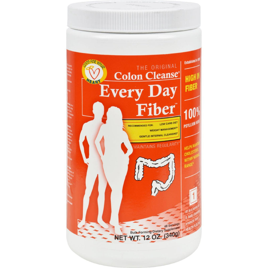 Health Plus Every Day Fiber - 12 Oz-Health Plus-pantryperks