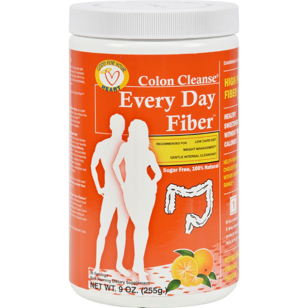 Health Plus Every Day Fiber - Orange - 9 Oz-Health Plus-pantryperks
