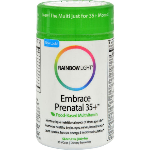 Rainbow Light Prenatal 35+ Multivitamin - 30 Caps-Rainbow Light-pantryperks
