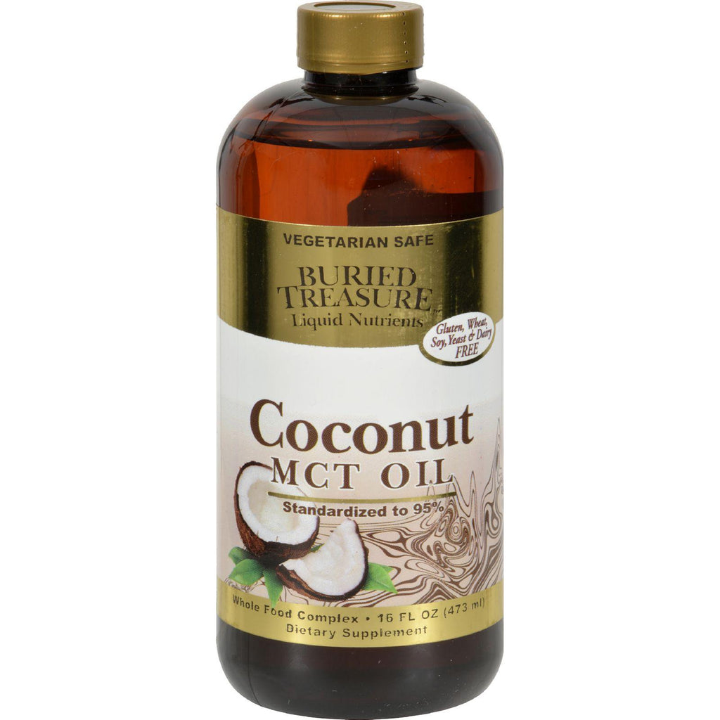 Buried Treasure Coconut Oil Mct - 15 Fl Oz-Buried Treasure-pantryperks