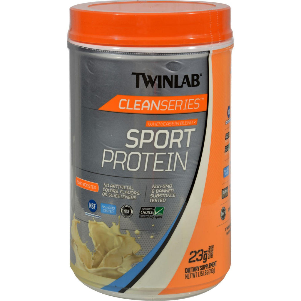 Twinlab Cleanseries Sport Protein - Vanilla - 1.75 Lb-Twinlab-pantryperks