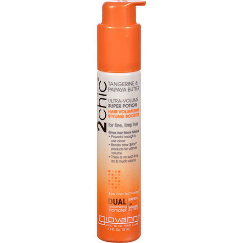 Giovanni Hair Care Products 2chic Style Booster - Ultra-volume - 1.8 Fl Oz-Giovanni Hair Care Products-pantryperks