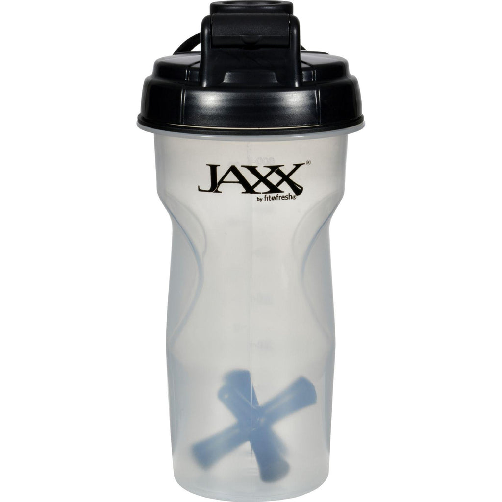 Fit And Fresh Jaxx Shaker - Black - 28 Oz-Fit And Fresh-pantryperks