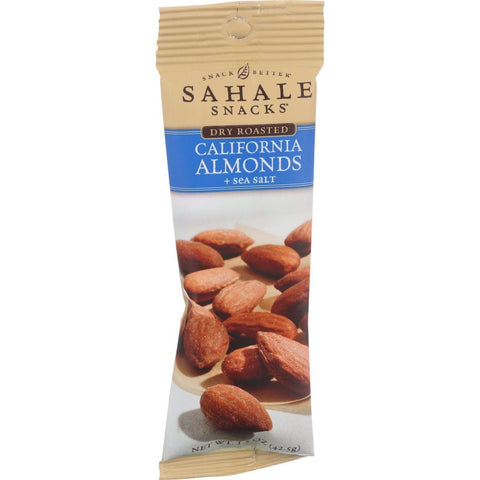 Sahale Snacks California Almonds Dry Roasted Mix Sea Salt - 1.5 oz-Sahale Snacks-pantryperks