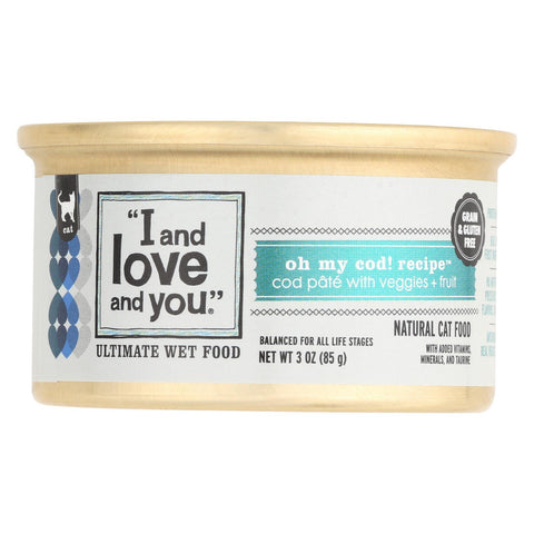 I and Love and You Natural Cat Food Oh My Cod - 3 oz-I And Love And You-pantryperks