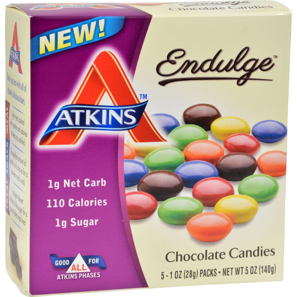 Atkins Endulge Bars - Chocolate - 1 Oz - 5 Ct-Atkins-pantryperks