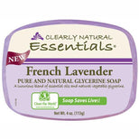 Clearly Natural Glycerine Bar Soap French Lavender - 4 oz-Clearly Natural-pantryperks