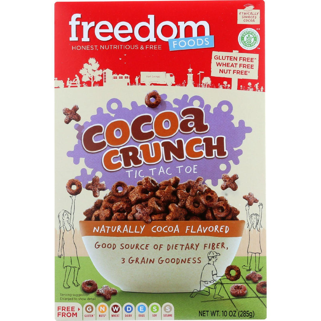 Freedom Foods Cocoa Crunch Cereal - 10 oz-Freedom Foods-pantryperks