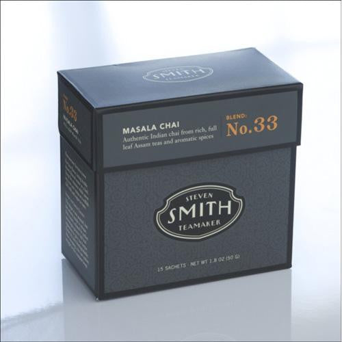 Smith Teamaker Tea - Masala Chai - Case Of 6 - 15 Bags-Smith Teamaker-pantryperks