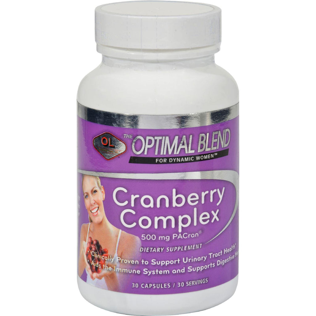Optimal Blend Cranberry Complex - 30 Capsules-Optimal Blend-pantryperks