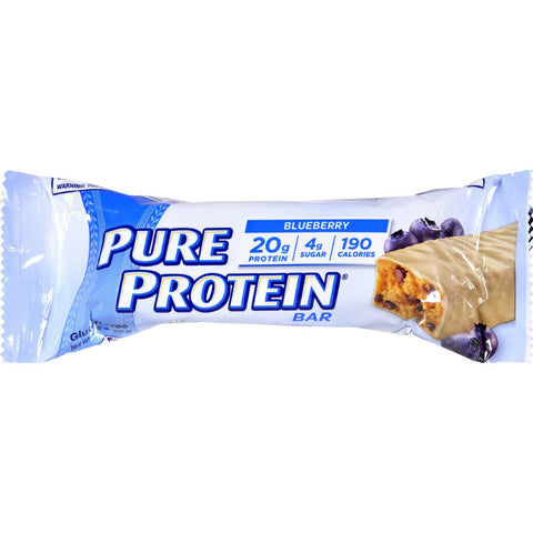 Pure Protein Bar - Blueberry With Greek Yogurt Style Coating - 1.76 Oz - Case Of 6-Pure Protein-pantryperks