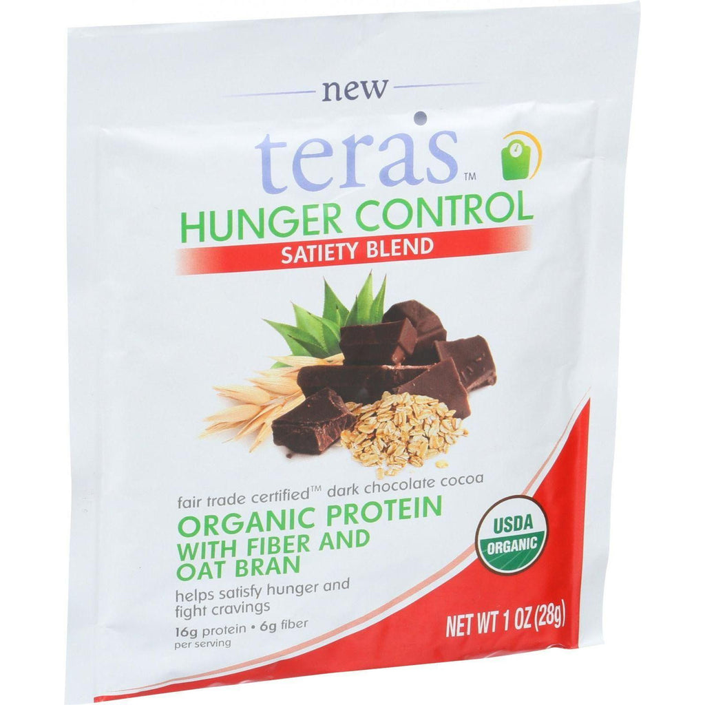 Tera's Whey Hunger Control - Satiety Blend - Fair Trade Certified Dark Chocolate - 12 Oz-Tera's Whey-pantryperks