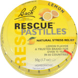 Bach Rescue Remedy Natural Stress Relief Pastilles Lemon Flavor 1.7 oz-Bach-pantryperks