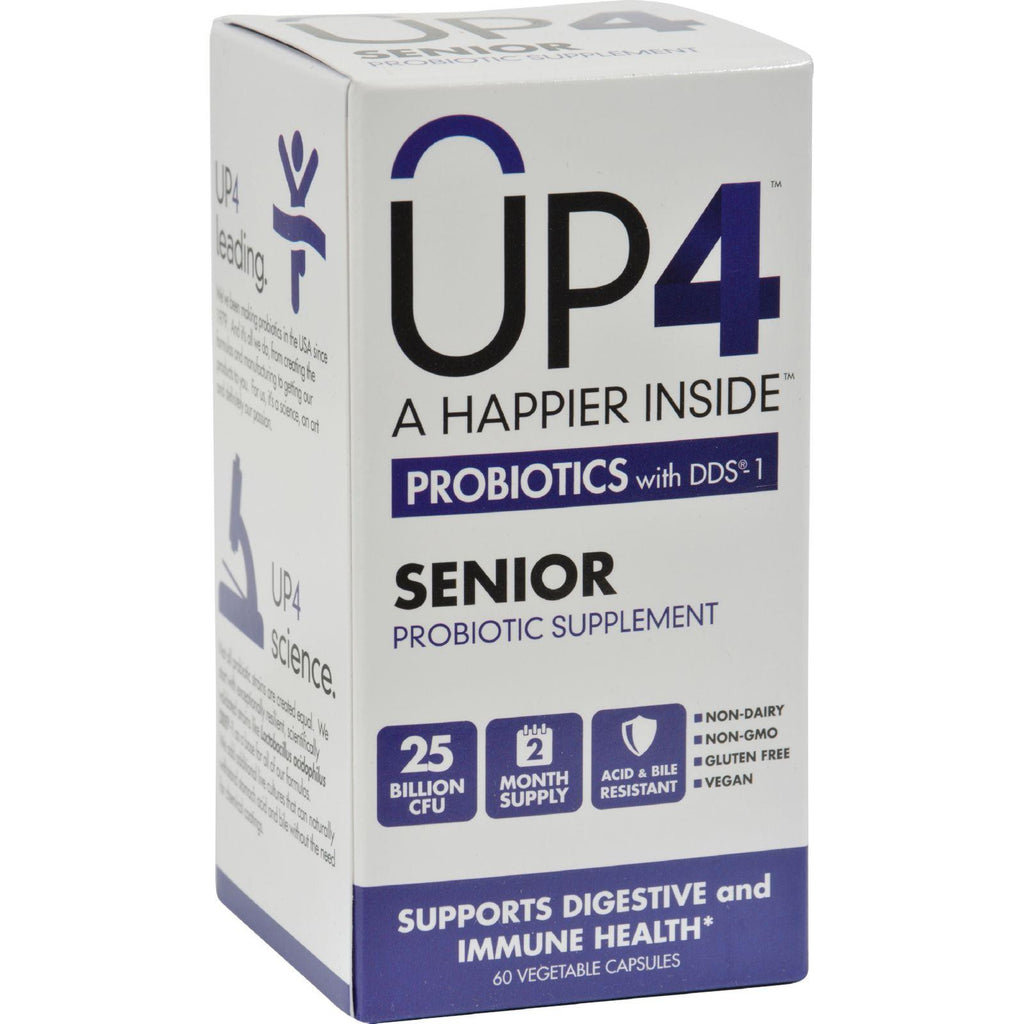 Up4 Probiotics - Dds1 Senior - 60 Vegetarian Capsules-Up4-pantryperks