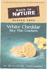 Back To Nature Multi - Seed Rice Thin Crackers - Case Of 12 - 4 Oz.-Back To Nature-pantryperks