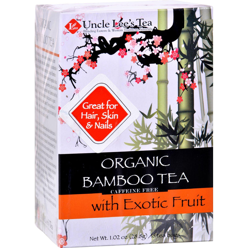 Uncle Lees Tea Organic Tea - Bamboo Exotic Fruit - 18 Bags-Uncle Lee's Tea-pantryperks