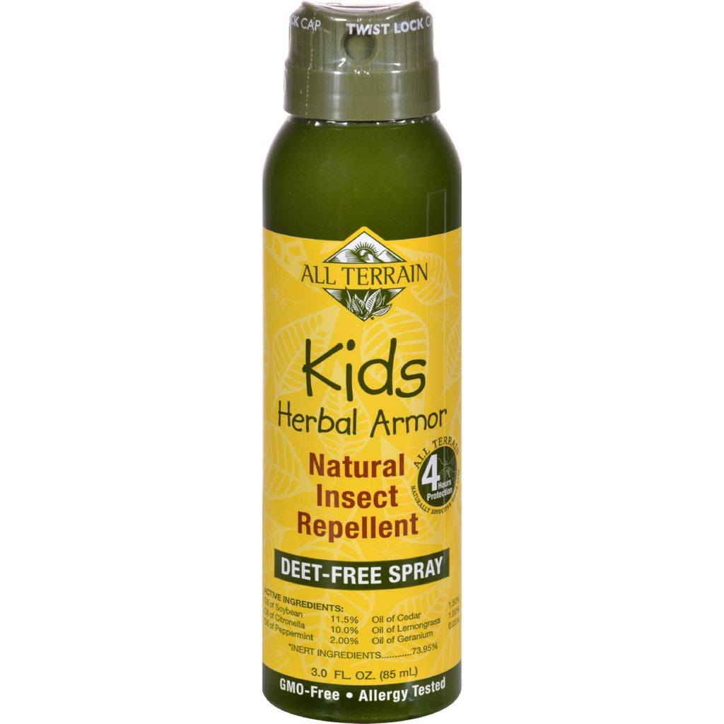 All Terrain Herbal Armor Natural Insect Repellent - Kids - Cont Spry - 3 Oz-All Terrain-pantryperks